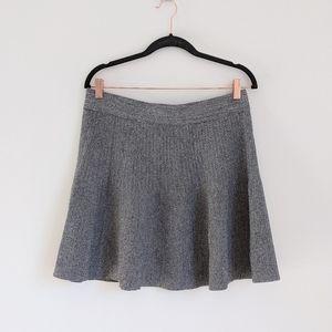 CLUB MONACO Women's grey Coquita Sweater Skirt L